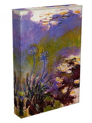 Blue Tuberosen by Monet Canvas Print & Poster - Canvas Art Rocks - 3