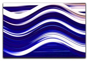 Blue Wave Canvas Print or Poster - Canvas Art Rocks - 1