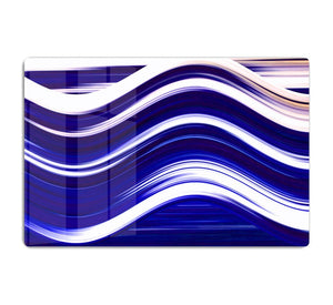 Blue Wave HD Metal Print - Canvas Art Rocks - 1
