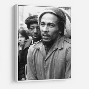 Bob Marley in London HD Metal Print