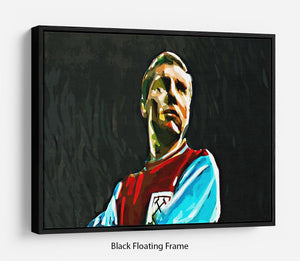 Bobby Moore Floating Frame Canvas