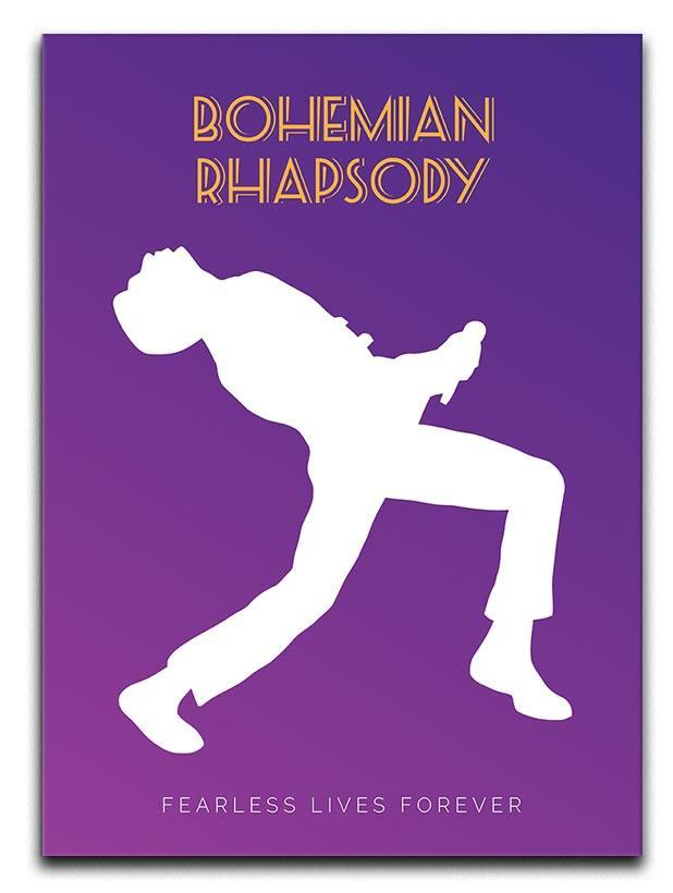 Bohemian Rhapsody Minimal Movie Canvas Print or Poster
