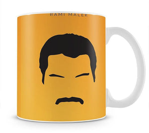Bohemian Rhapsody Rami Malek Minimal Movie Mug - Canvas Art Rocks - 1