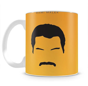 Bohemian Rhapsody Rami Malek Minimal Movie Mug - Canvas Art Rocks - 2