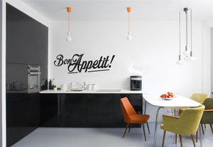 Bon Appetit Wall Sticker - Canvas Art Rocks - 1