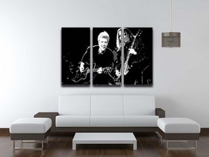 Bon Jovi 3 Split Panel Canvas Print - Canvas Art Rocks - 3