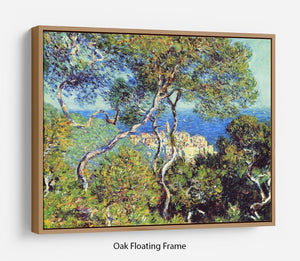 Bordighera by Monet Floating Frame Canvas