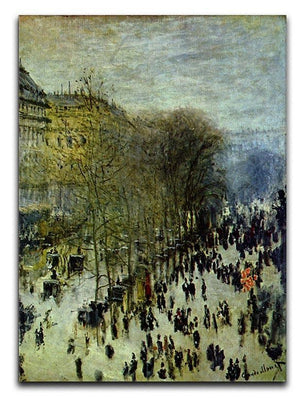 Boulevard of Capucines by Monet Canvas Print & Poster  - Canvas Art Rocks - 1