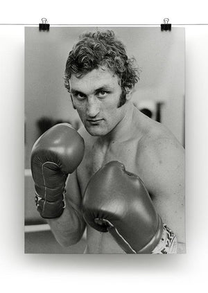 Boxer Joe Bugner Canvas Print or Poster - Canvas Art Rocks - 2