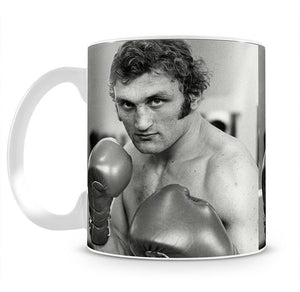 Boxer Joe Bugner Mug - Canvas Art Rocks - 2