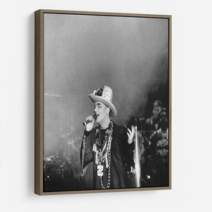 Boy George on stage HD Metal Print