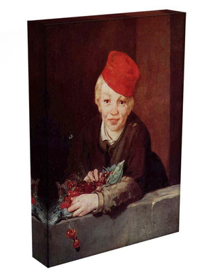 Boy with the cherries by Manet Canvas Print or Poster - Canvas Art Rocks - 3