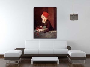 Boy with the cherries by Manet Canvas Print or Poster - Canvas Art Rocks - 4