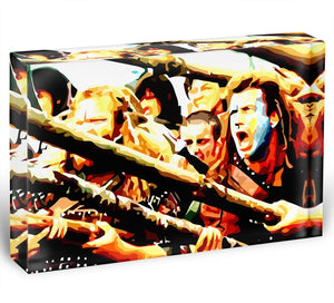 Braveheart Acrylic Block - Canvas Art Rocks - 1