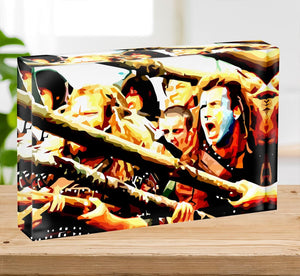 Braveheart Acrylic Block - Canvas Art Rocks - 2