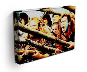 Braveheart Print - Canvas Art Rocks - 2