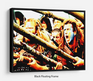 Braveheart Floating Frame Canvas