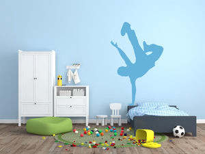 BreakDancer - Version 1 Wall Sticker - Canvas Art Rocks - 1