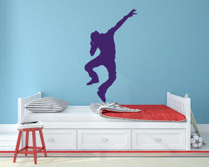 Breakdancer - Version 2 Wall Sticker - Canvas Art Rocks - 1
