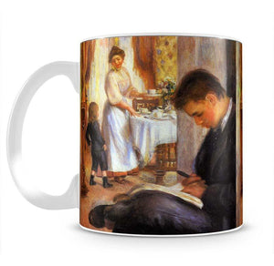 Breakfast at Berneval by Renoir Mug - Canvas Art Rocks - 2