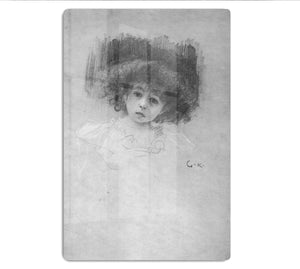 Breast image of a child by Klimt HD Metal Print