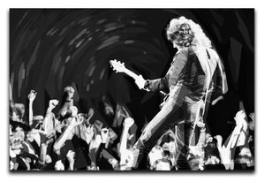 Brian May of Queen Pop Art Canvas Print or Poster  - Canvas Art Rocks - 1