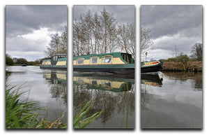 Bridgewater Canal 3 Split Panel Canvas Print - Canvas Art Rocks - 1