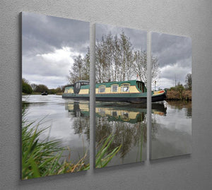 Bridgewater Canal 3 Split Panel Canvas Print - Canvas Art Rocks - 2
