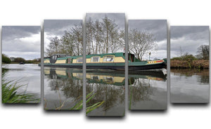 Bridgewater Canal 5 Split Panel Canvas - Canvas Art Rocks - 1