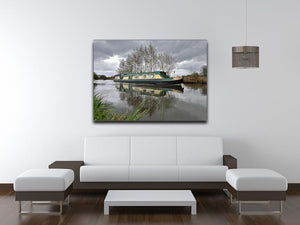 Bridgewater Canal Canvas Print or Poster - Canvas Art Rocks - 4