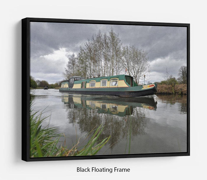 Bridgewater Canal Floating Frame Canvas