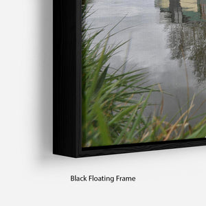 Bridgewater Canal Floating Frame Canvas - Canvas Art Rocks - 2