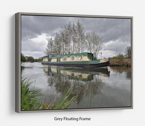 Bridgewater Canal Floating Frame Canvas - Canvas Art Rocks - 3
