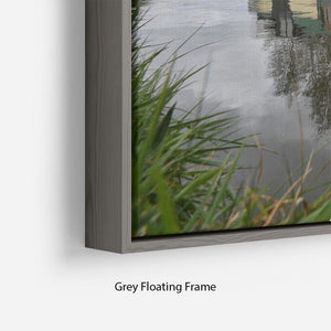 Bridgewater Canal Floating Frame Canvas - Canvas Art Rocks - 4