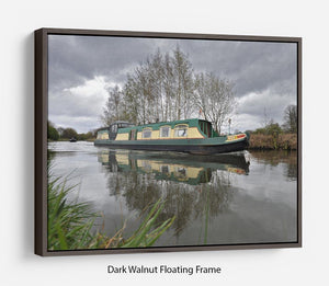 Bridgewater Canal Floating Frame Canvas - Canvas Art Rocks - 5