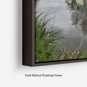 Bridgewater Canal Floating Frame Canvas - Canvas Art Rocks - 6