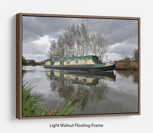 Bridgewater Canal Floating Frame Canvas - Canvas Art Rocks 7