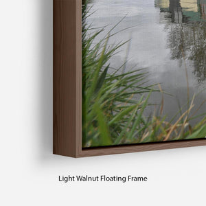 Bridgewater Canal Floating Frame Canvas - Canvas Art Rocks - 8