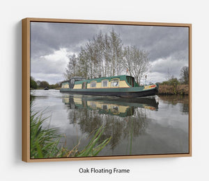 Bridgewater Canal Floating Frame Canvas - Canvas Art Rocks - 9
