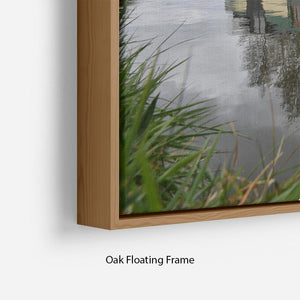 Bridgewater Canal Floating Frame Canvas - Canvas Art Rocks - 10