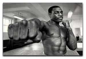 British boxer Frank Bruno Canvas Print or Poster  - Canvas Art Rocks - 1