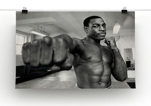 British boxer Frank Bruno Canvas Print or Poster - Canvas Art Rocks - 2