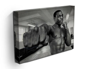 British boxer Frank Bruno Canvas Print or Poster - Canvas Art Rocks - 3
