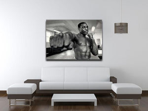 British boxer Frank Bruno Canvas Print or Poster - Canvas Art Rocks - 4