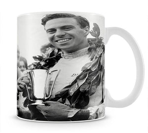 British racing drivers Jim Clark and Stirling Moss Mug - Canvas Art Rocks - 1