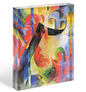 Broken Forms by Franz Marc Acrylic Block - Canvas Art Rocks - 1
