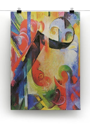Broken Forms by Franz Marc Canvas Print or Poster - Canvas Art Rocks - 2