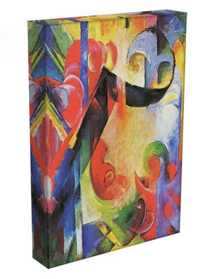 Broken Forms by Franz Marc Canvas Print or Poster - Canvas Art Rocks - 3