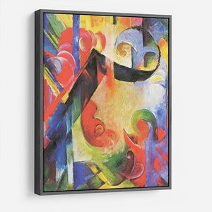 Broken Forms by Franz Marc HD Metal Print