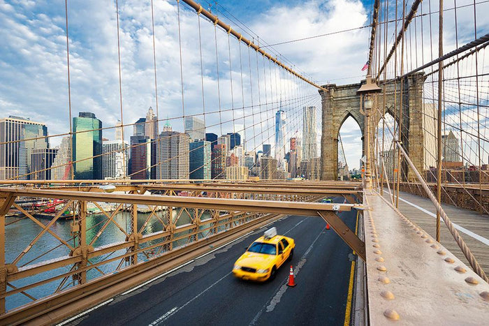 Brooklyn Bridge in New York City Wall Mural Wallpaper